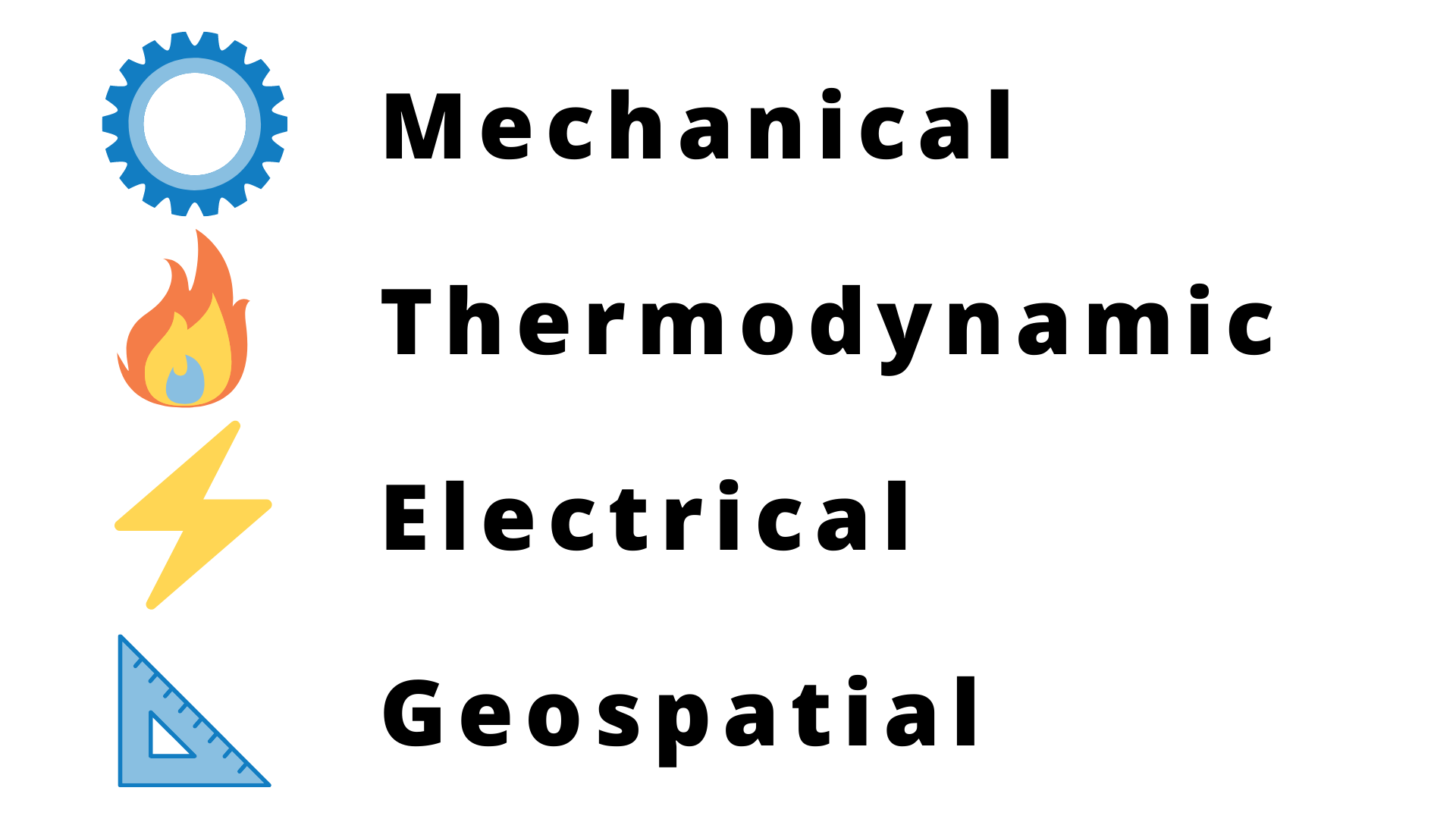 Mechanical Thermodynamic Electrical Geospatial iot sensors