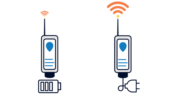 battery powered wireless tank level sensor
