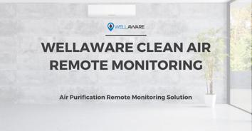 wellaware air purification remote monitoring service