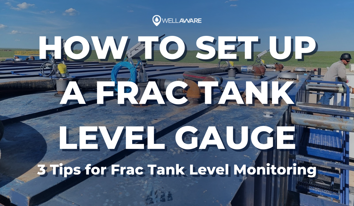 how to set up a frac tank level gauge 3 tips for frac tank level monitoring