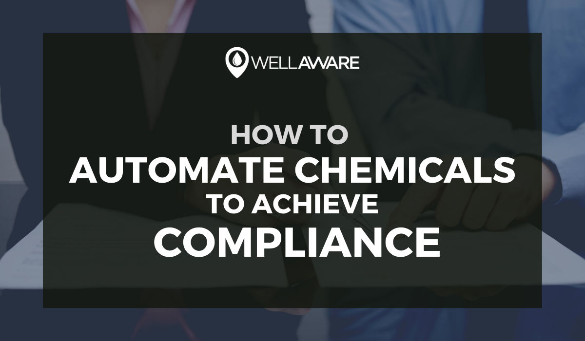 how to automate chemical injection to maintain regulatory compliance and avoid fines and remediation