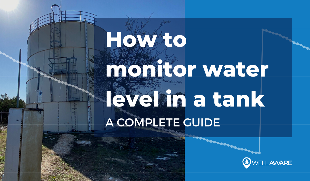 how to monitor water level in a tank