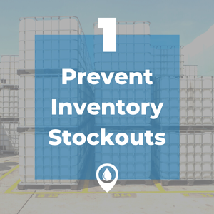 prevent inventory stockouts
