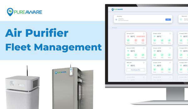 pureaware act air purifier fleet management