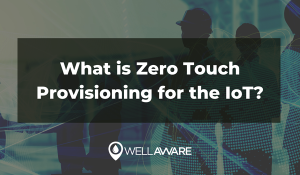 what is zero touch provisioning internet of things