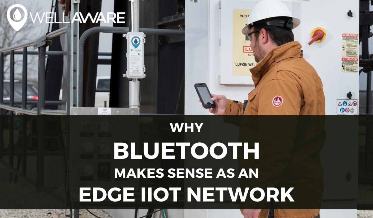 why bluetooth makes sense as an edge iiot network